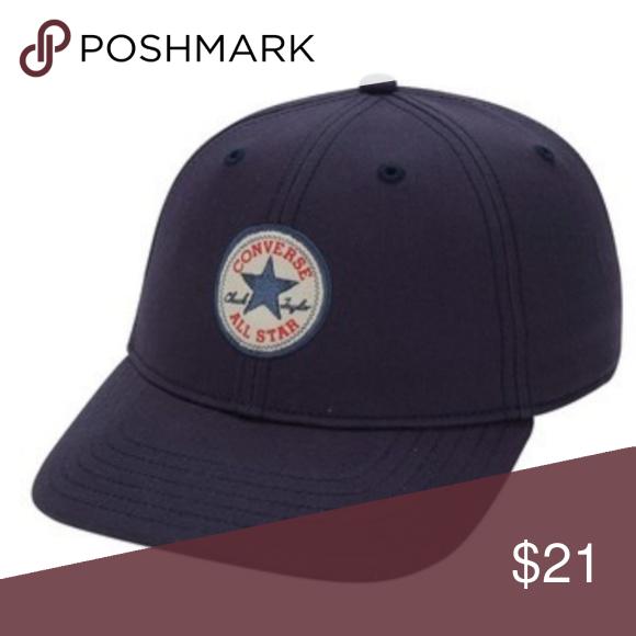ee99091bceb •CONVERSE• Women s Short Visor Logo Baseball Cap Women s Converse Short  Visor Core Logo Baseball