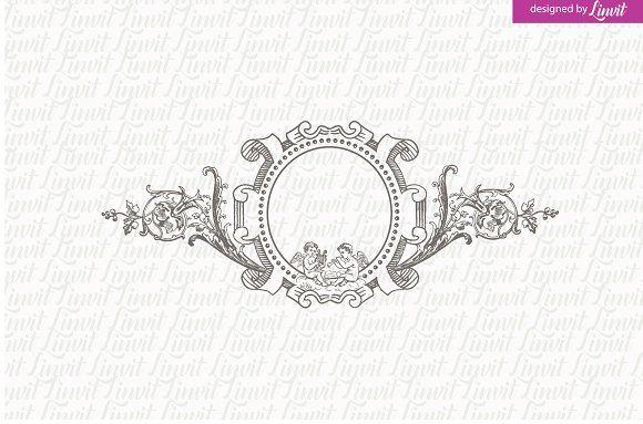 Vintage Wedding Logo Wedding Logos Wedding Logo Design Vintage Logo Design