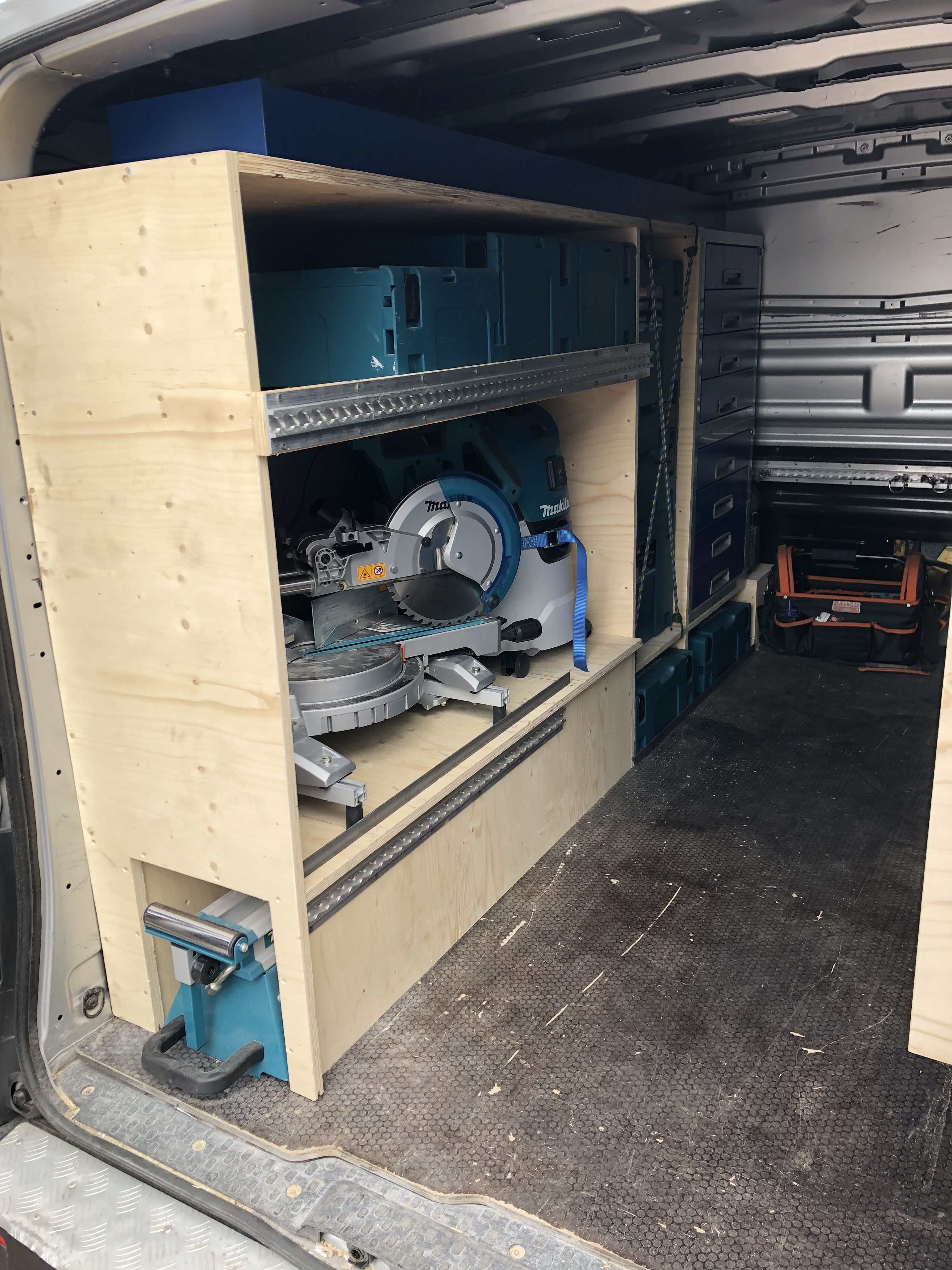 makita #vivaro #toolstorage #tool #systainer #businrichting