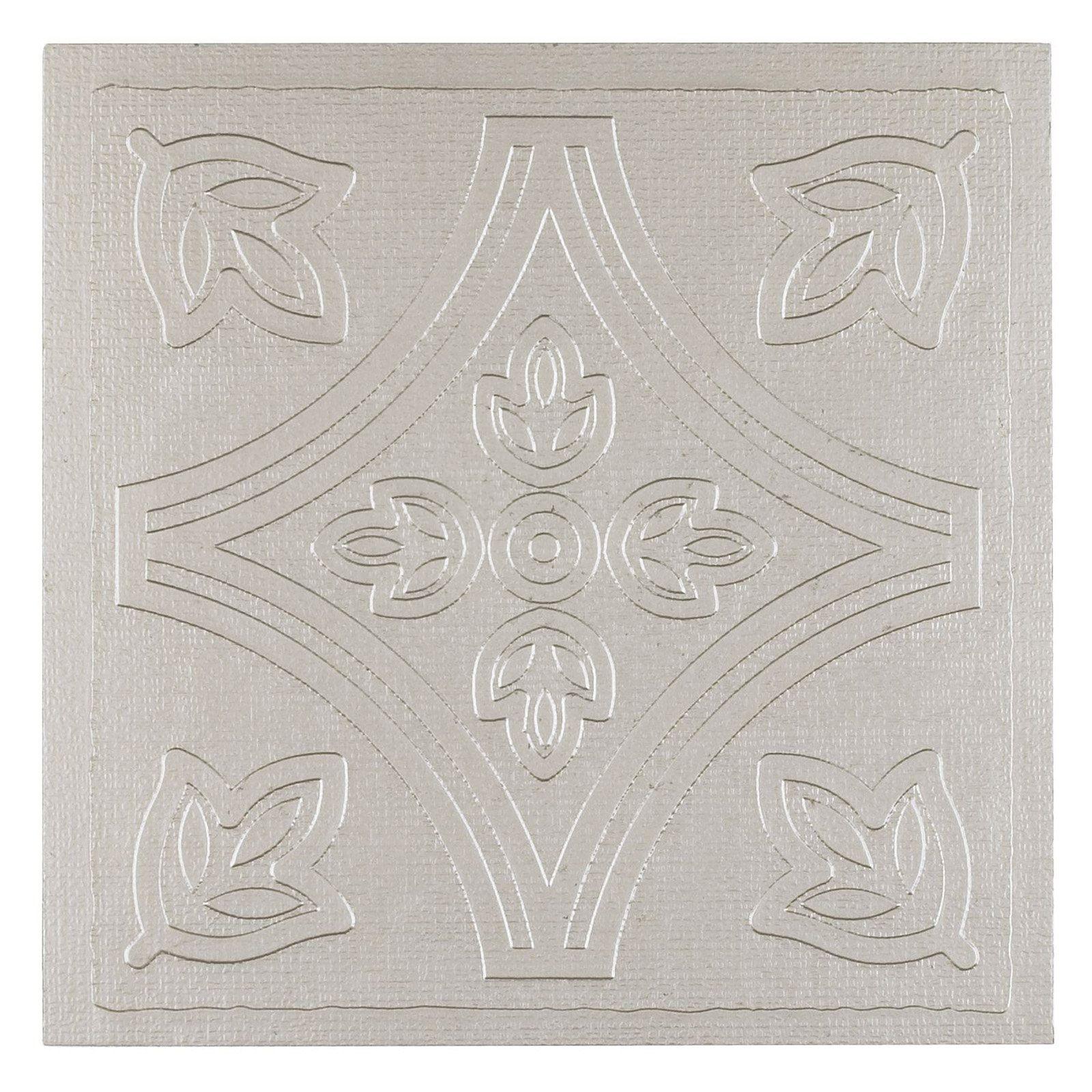 - Achim Metallo 4 X 4 In. Self-Adhesive Vinyl Wall Tile - Set Of 27