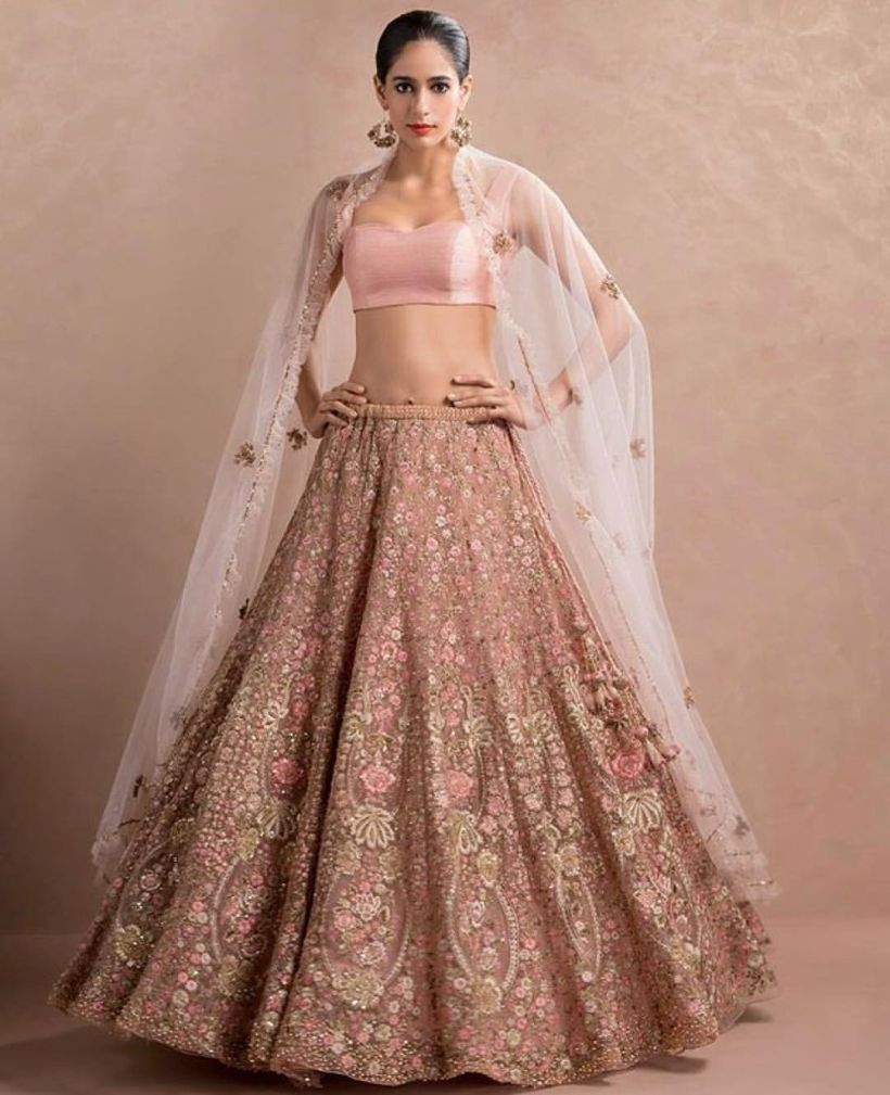 50 Modern Indian Wedding Dresses and Wedding Gowns Ideas | Gowns ...