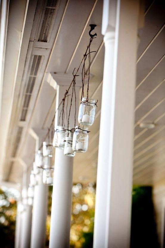 Rustic mason jar patio lights mason jars pinterest patio rustic mason jar patio lights workwithnaturefo