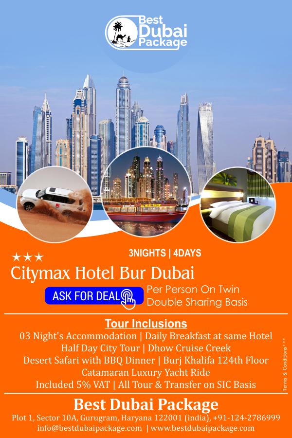 3 night hotel deals in dubai