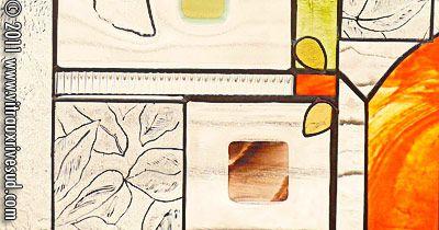 Les vitraux rive sud vitraux de roxanne jacques pinterest for Calfeutrage fenetre rive sud