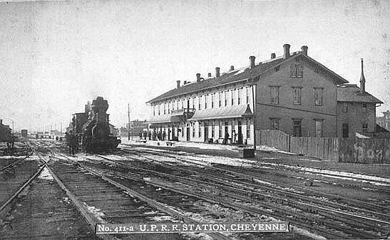 Dodge Union City >> Union Pacific Depot and Hotel, Cheyenne, 1880. in 2019 ...
