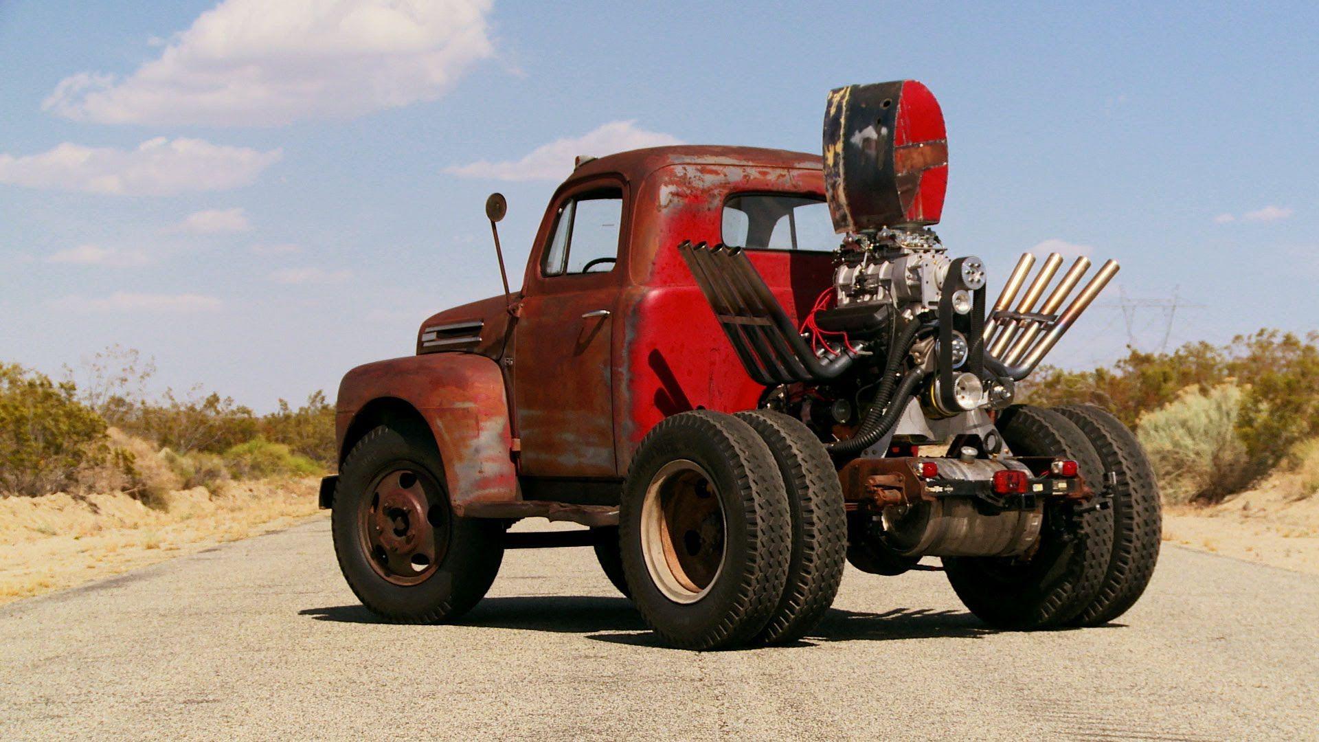 Wheelstanding Dump Truck Stubby Bob s eback Roadkill Ep 52