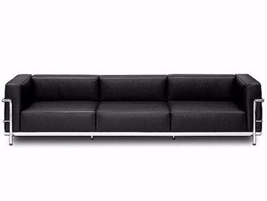 Cassina Le Corbusier LC3 3Seater Sofa Bauhaus, Design