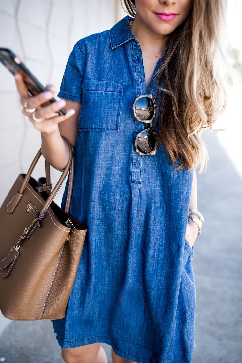 5a9056ce565 Assembly Denim Patchwork Shift Dress – Sleeveless denim dress made from  vintage denim featuring zipped back closure – Model wears size XS – 100%  Cotton ...