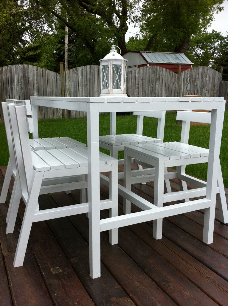 High Top Patio Table and Chairs - We Finally Have Some Patio Furniture! High Tops, Chairs And Patio