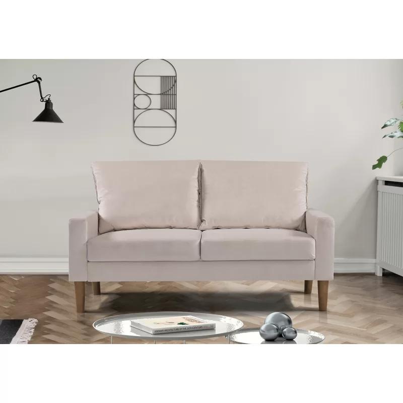 Petit Velvet 53 Loveseat Love Seat Livingroom Layout Furniture