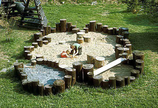 2 kids 1 sandkasten