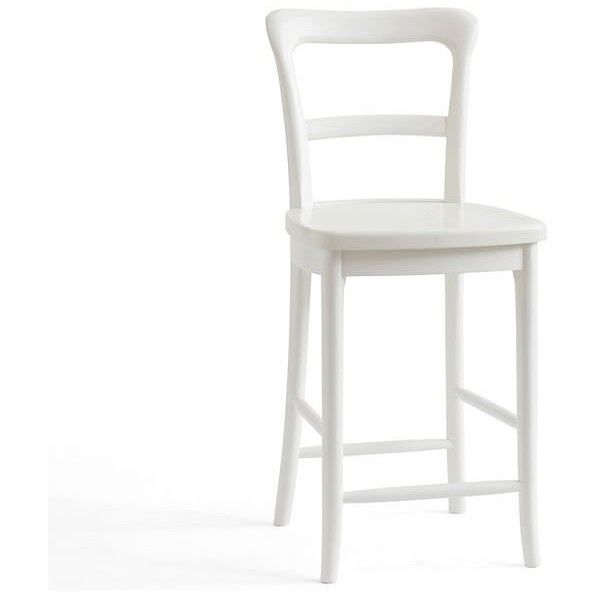Pottery Barn Cline Counter Stool ($169) ❤ Liked On Polyvore Featuring Home,  Furniture
