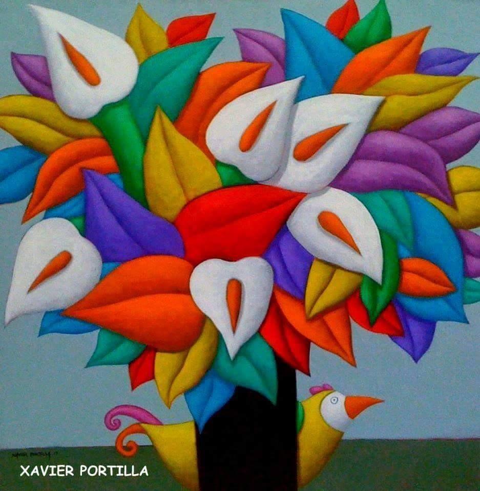 Xavier color printing - Art Xavier Portilla