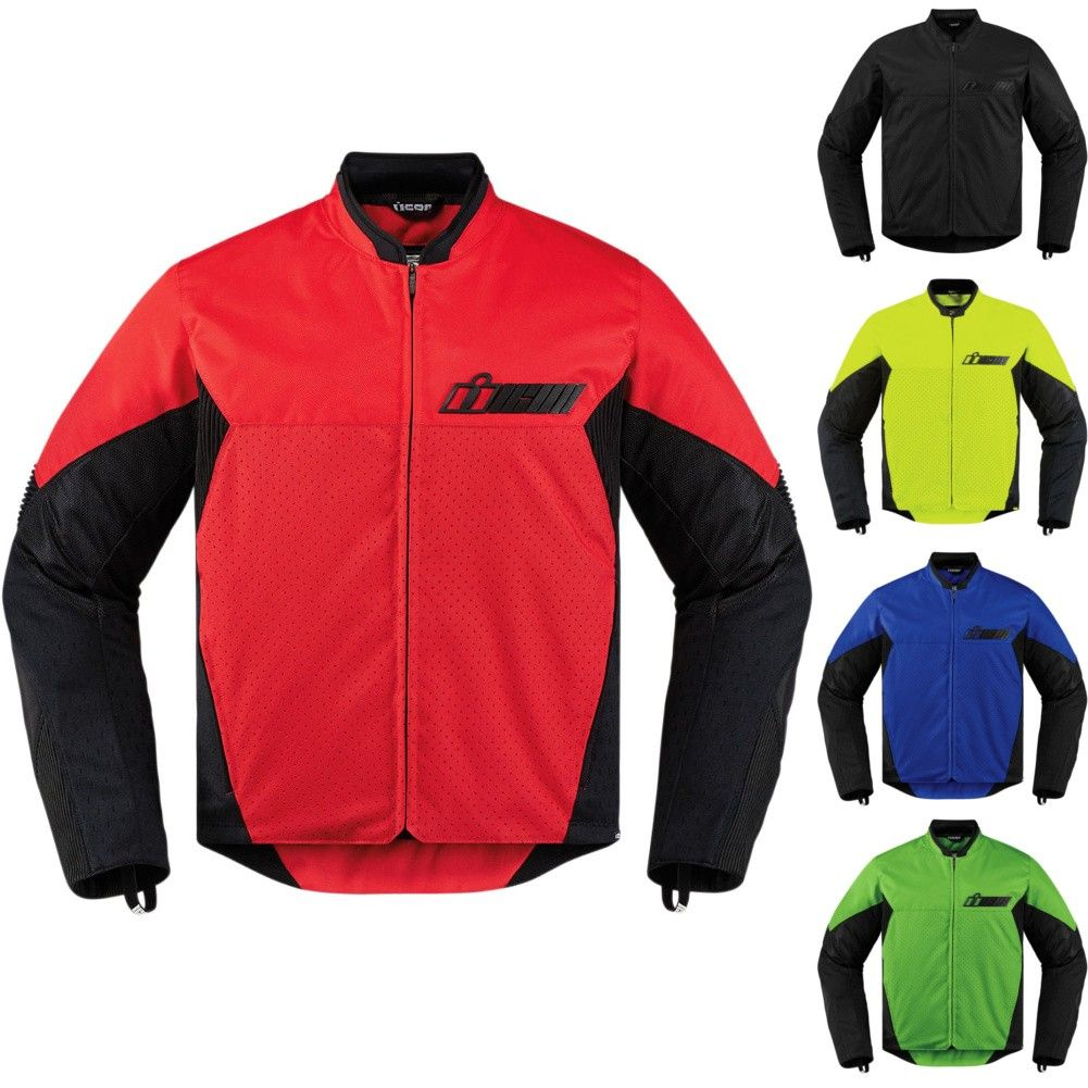 Icon Konflict Textile Mens Motorcycle Jackets Motorcycle