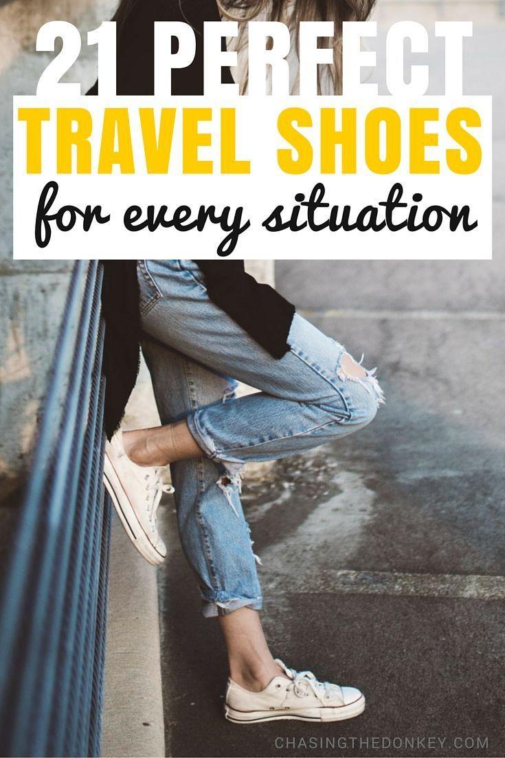 Rejsesko og -sandaler