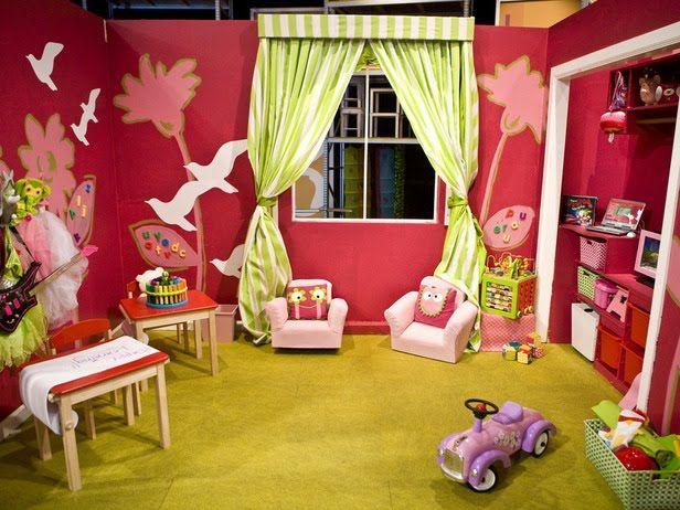 Cuarto de Juegos (Playroom) para Niñas | Bebe, Para niños y Cuartos ...