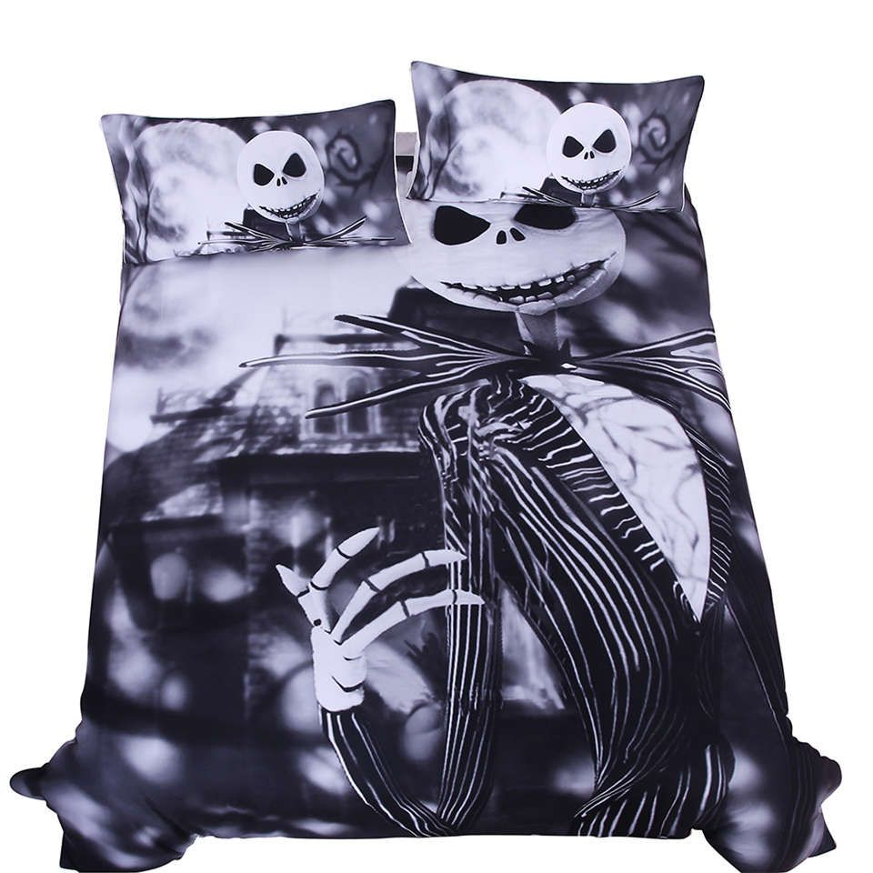 Black White The Nightmare Before Christmas Bedding Sets BedspreadS ...