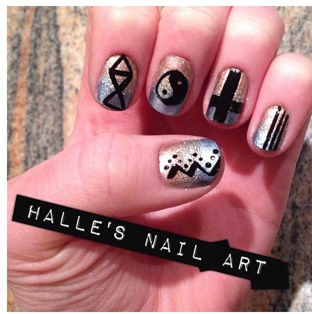 hipster nails pinterest - photo #16