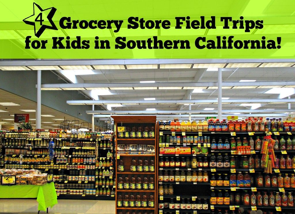 4 Grocery Store Field Trips for Kids in Southern