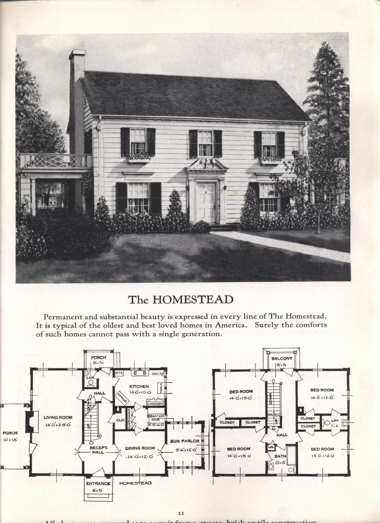 Better Homes At Lower Cost No 17 By Standard Homes Co Publication Date 1930 The Homestead Boatbuilding Vintage House Plans House Plans American Houses