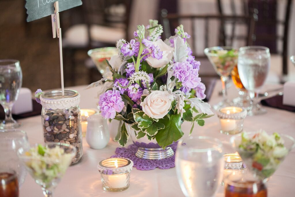Lavender And White Wedding Brakefield At Riverwalk Love Of Birds