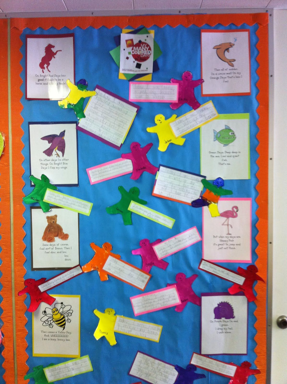 My Many Colored Days Activity For Dr Suess Book