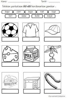 Latihan Bahasa Malaysia Buku Pelajaran Latihan Suku Kata