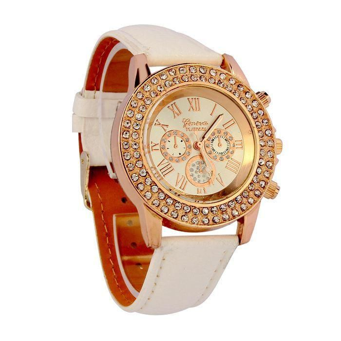 Vogue Women Watches Leather Bracelet thats Fashionable and Casual ...