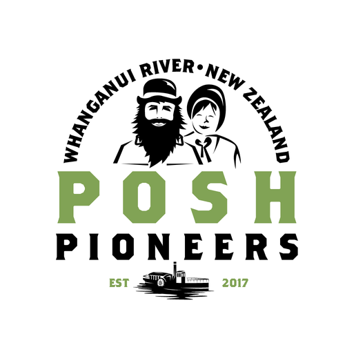 Posh Pioneers Design A Logo For Unique Business We Provide Unique Accommodation Themed Around Early Pioneers It Business Logo Design Travel Logo Logo Design