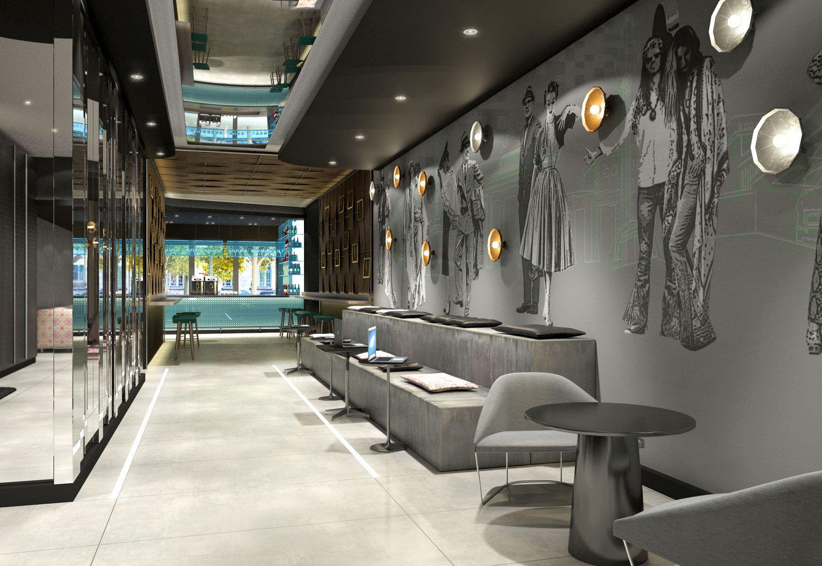 Hotel Mercure Wittenbergplatz Interior Design by Kitzig Interior ...