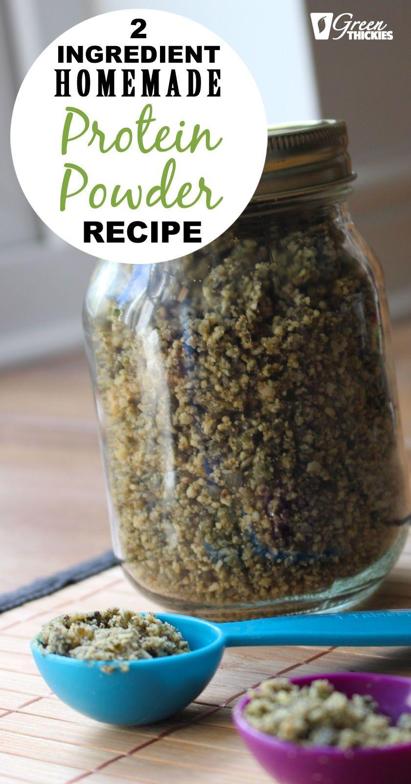 2 ingredient homemade protein powder recipe vegan hemp