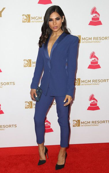 Alejandra Espinoza attends 2016 Latin GRAMMY's Person Of The Year honoring Marc Anthony at the MGM Grand on November 16, 2016 in Las Vegas, Nevada.  / AFP / Tommaso Boddi