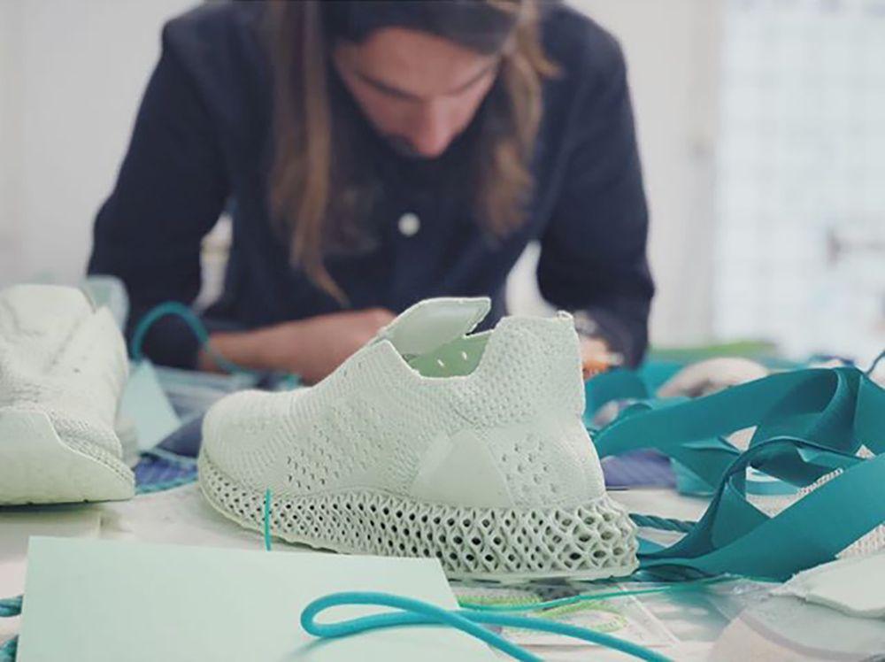 32748a6f8ff6b Studio Hagel Remixes 3D Printed Adidas ALPHAEDGE 4D - Design Milk