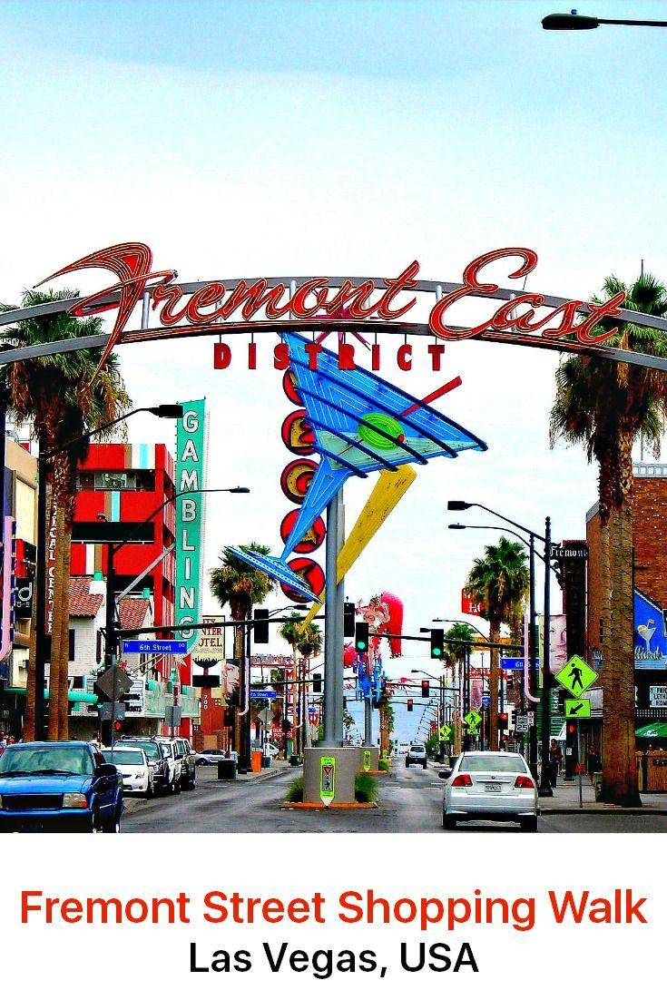 Las Vegas, Usa Discovery Walk Fremont Street Shopping -5327
