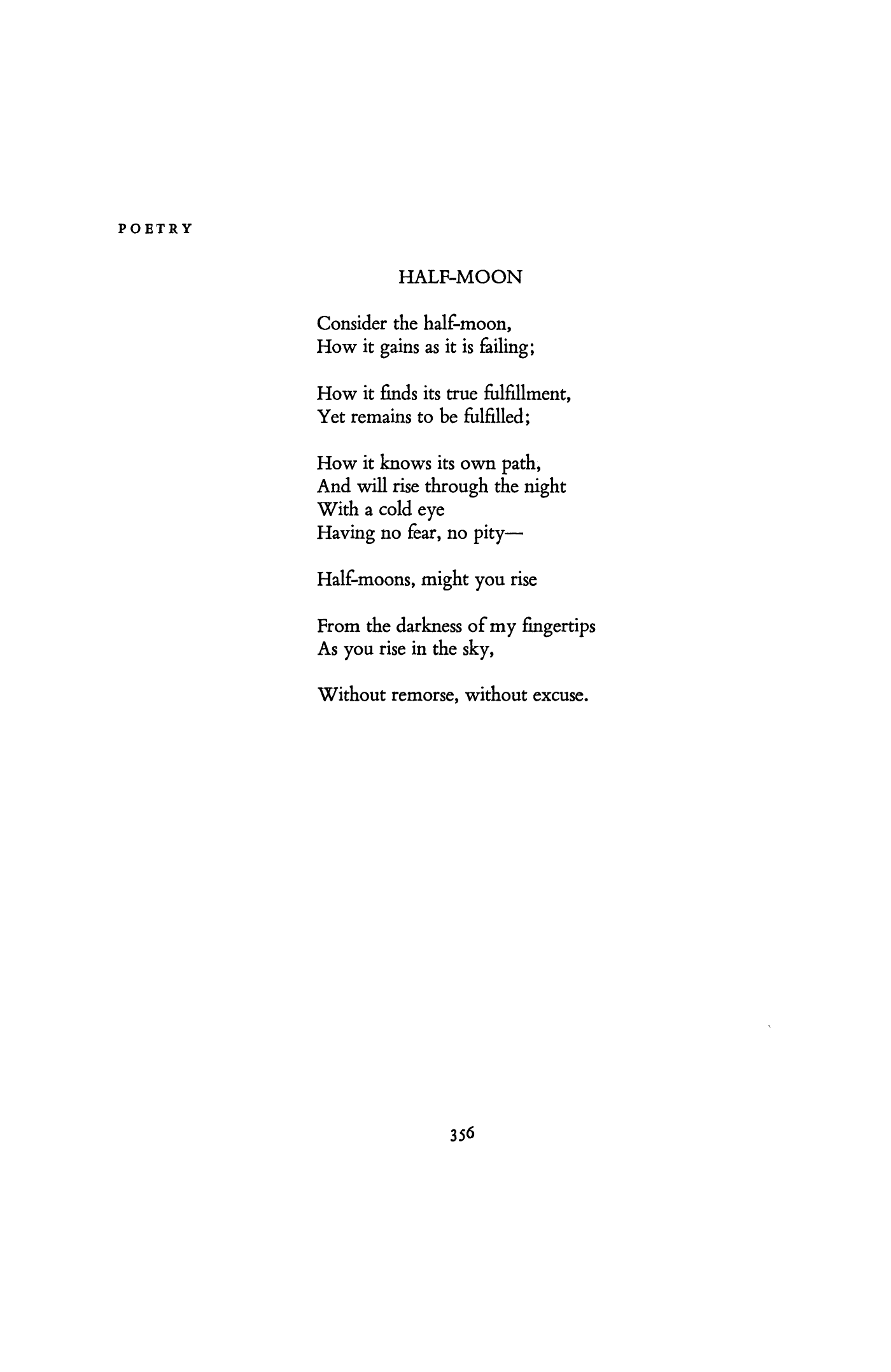 Half Moon By Charles Wright Poetry Magazine Moon Poems Star Quotes Poetry Magazine