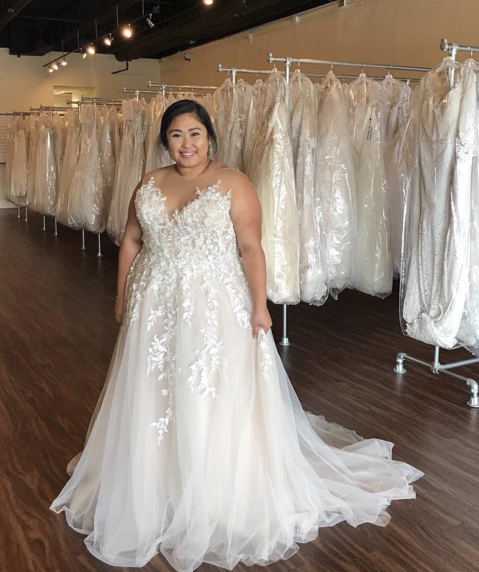plus size wedding gowns   Plus size bräute, Kleid hochzeit ...