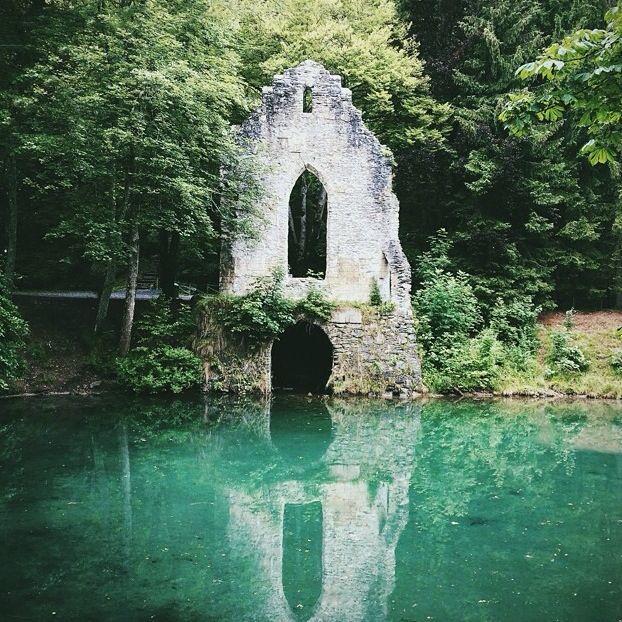 Abandon Chapel in Chamonix.