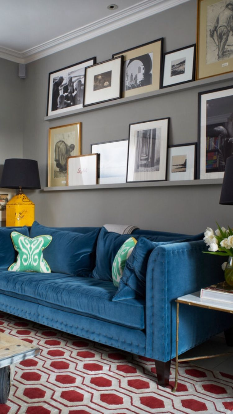 Over the sofa | London living room, Eclectic living room ...