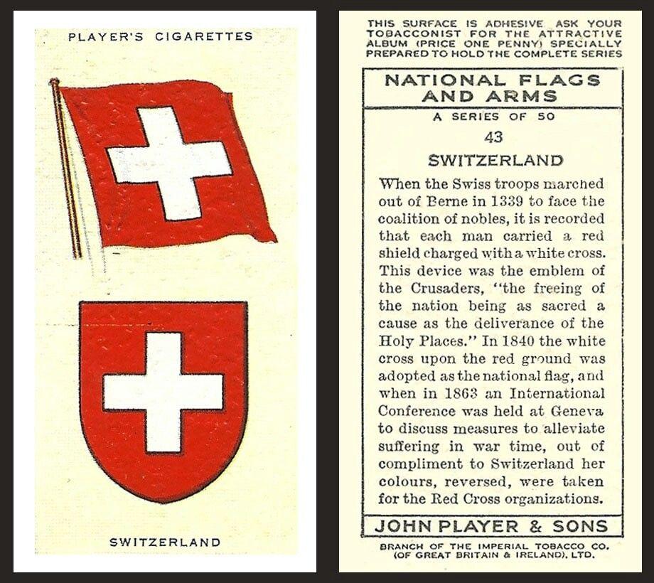 43 Zwitserland National Flag European Flags Flag