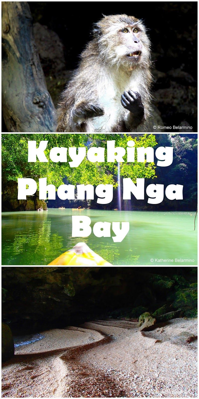 Travel the World: A unique experience while traveling to Thailand is kayaking through Phang Nga Bay's karsts and hongs.