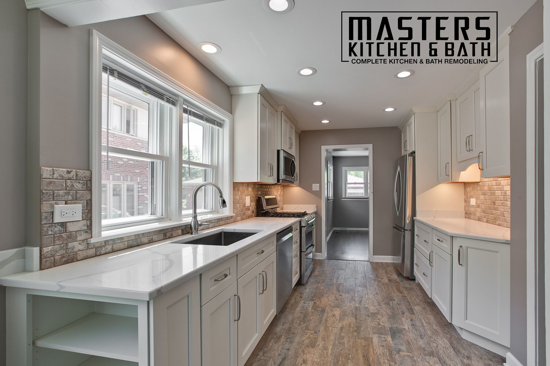 Fresh Bathroom Remodel By Masters Kitchen And Bath In 2020 Full Kitchen Designs Bathrooms Remodel Kitchen And Bath Showroom