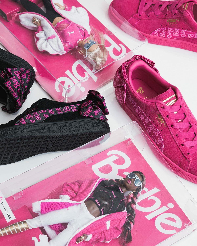 e2bbc088cfe Barbie x Puma Suede