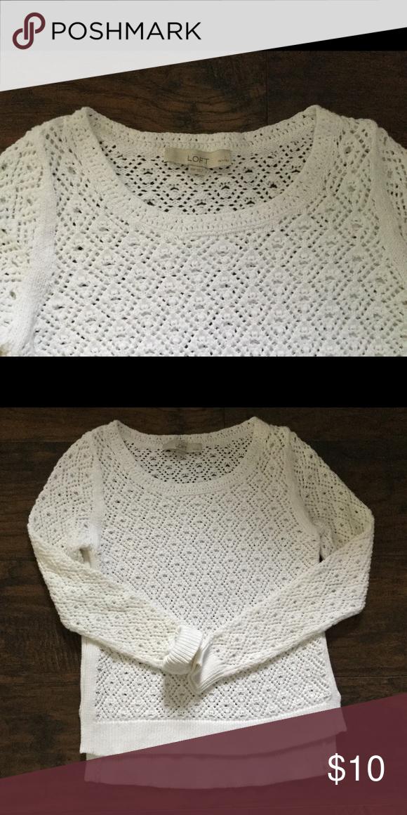 Up 4 donation👀 Loft Sweater Like new condition Size XSP