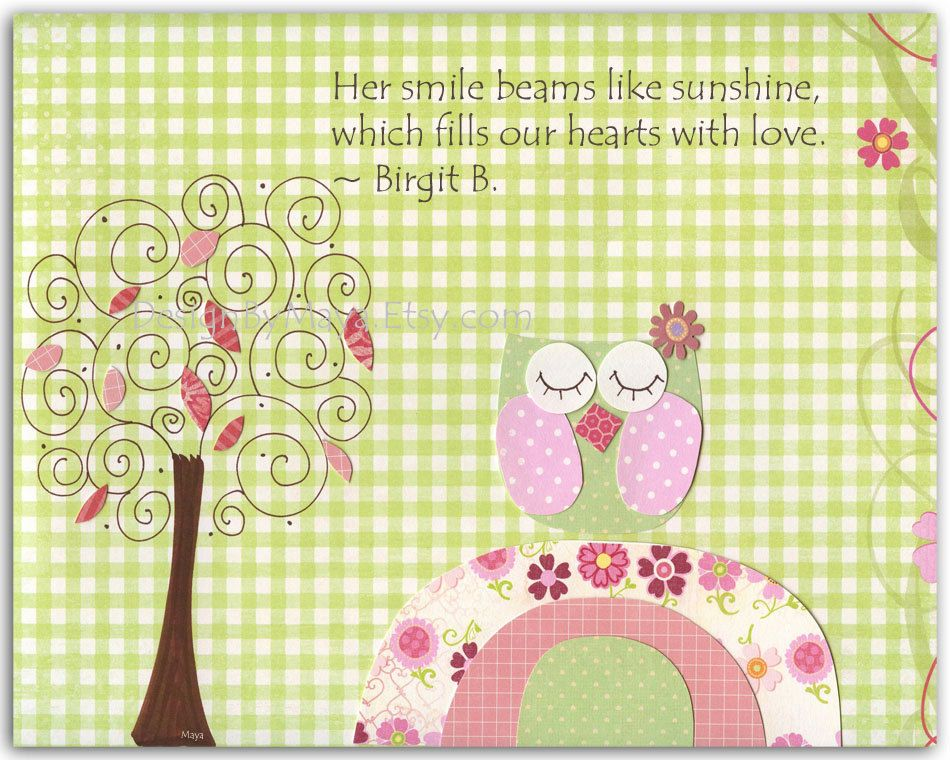 Pretty Wall Art For Baby Girl Room Images - Wall Art Design ...