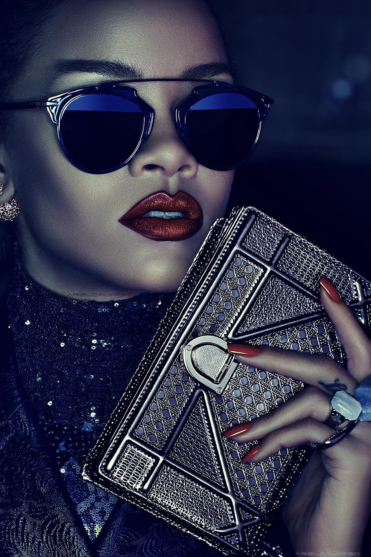 276c151cec Rihanna by Steven Klein for Dior Secret Garden 2015 1 | Rihanna ...