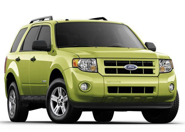 Ford Escape Hybrid Car Ford Suv Cars Ford