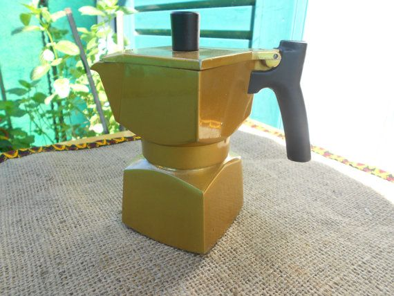 Cubotta Veraplast coffe maker/Vintage coffe maker/ by 61Sideways