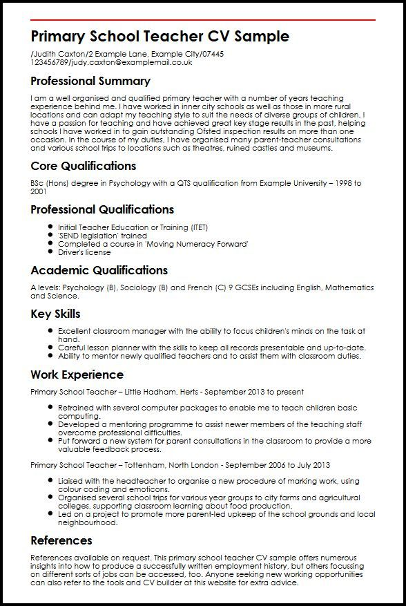 Example Of Perfect Resume Unique Unique A Sample Resume for Job