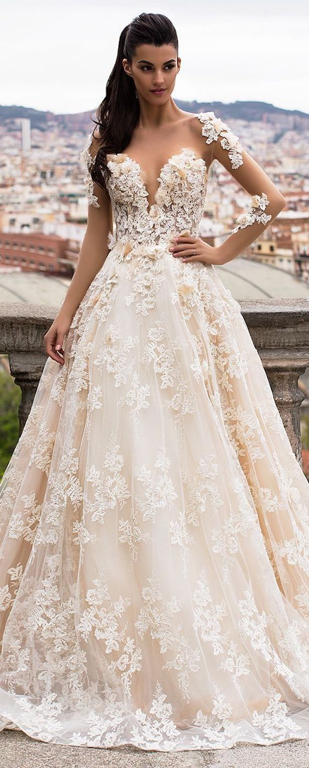 Dress for wedding party in winter  Stunning Winter Wedding Dresses  My Wedding ideas  Pinterest