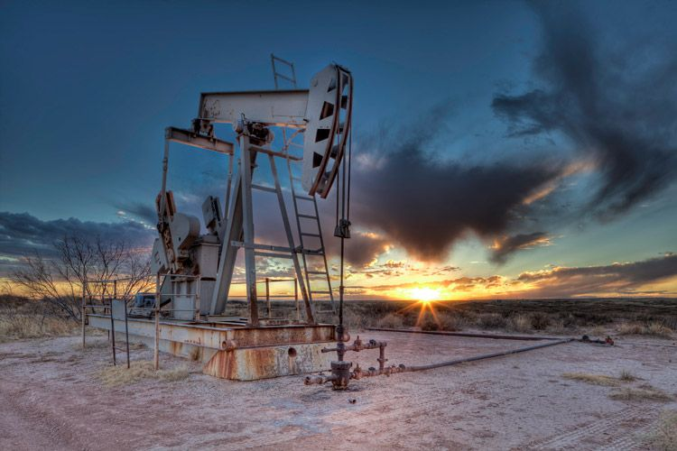 Edge Of The Day 2 New mexico, Oilfield, Photography